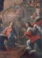 Anunciación, obra restaurada