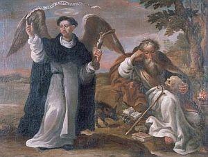 San Vicente Ferrer como ángel