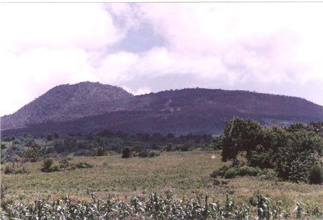 Cerro del Metate, en los noventas. José Luis del Rio Carranza.
