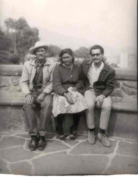 En la ciudad de México, principios de la década de los setenta