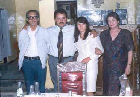 Eliazar Báez, Rosa Rodriguez, Ma. Guadalupe Campos y Silviano Martinez, en Ziquitaro1992