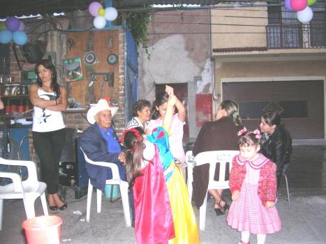 Con la presencia de don Raúl Campos Alvarez (+), el patriarca de la familia