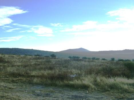 Desde El Llano, en mañanita brumosa