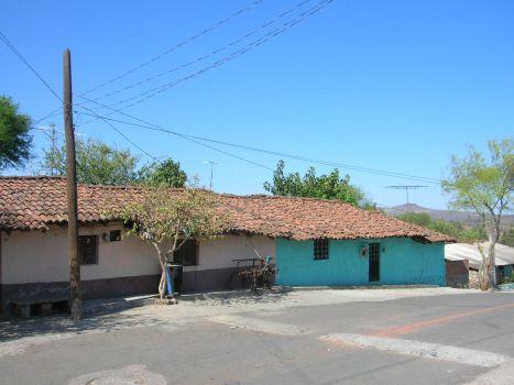 Barrio La Viscosa. Casas tíipicas
