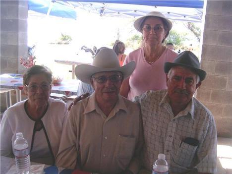 Dolores Duarte, Luis Duarte, Alfredo Aguiñiga Silva y María de la Luz Aguiñiga Silva