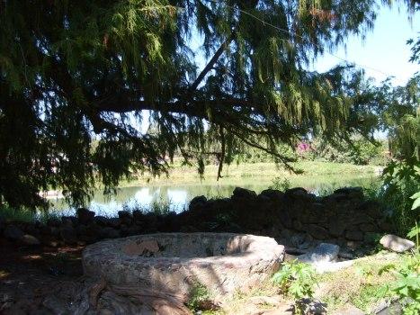 El Ojo de Agua, el manantial central