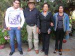 Emmanuel Martínez, Petrita Martínez, Amado Báez e Irma Báez Martínez
