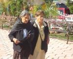Las tías Josefa y Lucrecia Campos