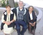 Otra toma de Silviano con Lucrecia Campos Alvarez y Josefa Campos Cerda