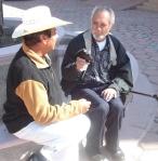 Otro aspecto del encuentro de Chava Salgado y Silviano