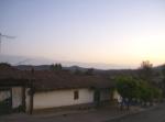 Ziquítaro, calles y paisajes, 6. Mañanita del día 12, ya viene el Sol