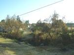 Ziquítaro, calles y paisajes, 64. Mañanita del día12. Arroyito del desague de la presa