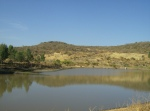 Ziquítaro. El parque y alrededores, 16. Al fondo la barranca y el Arroyo de la Pila