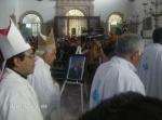 La Piedad. La despedida, 36. Llegan los obispos y sacerdotes al santuario de El Señor de la Piedad