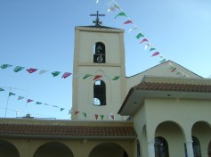 Ziquítaro, la torre, en fiesta, 2