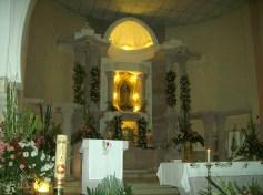 El templo, interiores antes de la celebración, 5