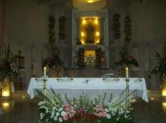 El templo, interiores antes de la celebración, 3