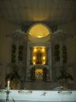 El templo, interiores antes de la celebracón, 2