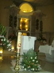 El templo, interiores , antes de la celebración,1