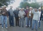 En Los Nopales Altos, mañaneando con la banda de Ichán