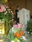 Durante la misa concelebrada