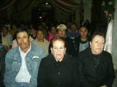 La comunidad devota de El Mirador   participó en la última peregrinación de barrios