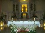 Celebración central, 15. Altar florido