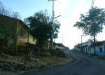 La mañanita del 12, en Los Nopales Altos. Allá, al fondo, con la banda de Ichán