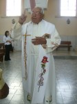 Celebración central, 5. Padre Sotero Fernández. A mediados de los cincuenta, era vicario en la parroquia de Penjamillo